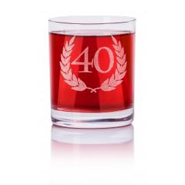 Okrągła szklanka do whisky
