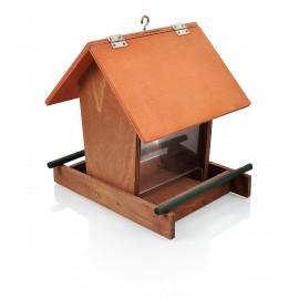 Karmniki dla ptaków drewno z wsypem Karmik